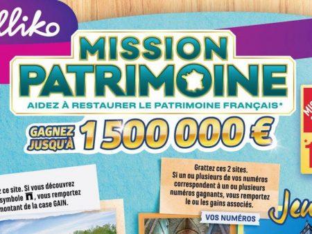 FDJ relance la Mission Patrimoine et le jeu à gratter qui va avec !