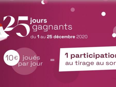 25 jours pour gagner des cadeaux avec le calendrier de l'Avent de la FDJ !
