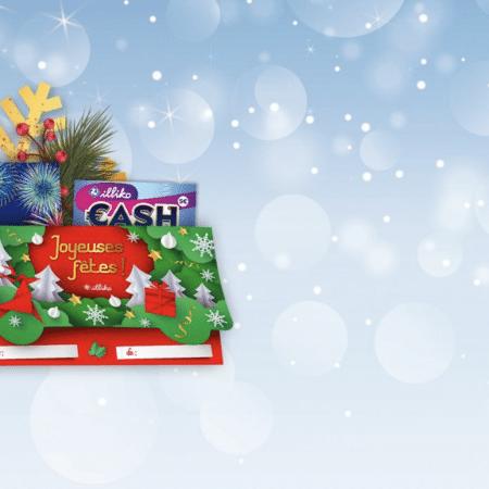 La FDJ lance 4 nouvelles pochettes cadeaux illiko pour les fêtes de fin d'année !