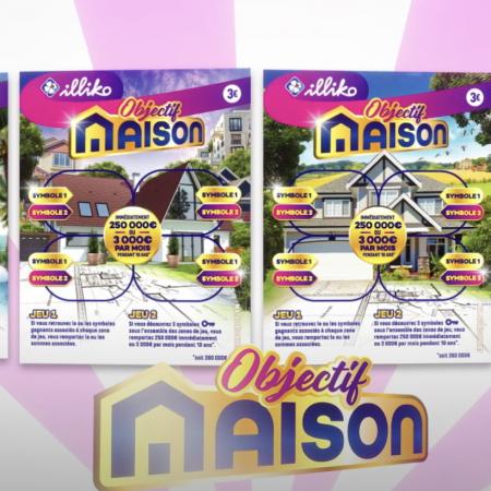 Concrétisez votre projet immobilier avec «Objectif Maison», le nouveau jeu de grattage de la FDJ !