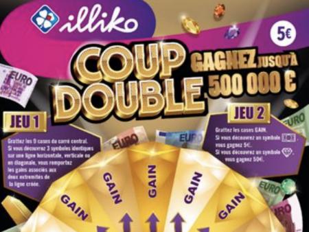 Plus de chances de gagner avec le nouveau jeu Coup Double ?