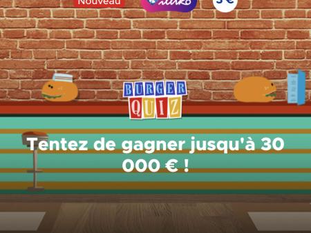 FDJ s'inspire du jeu télévisé Burger Quiz pour son nouveau ticket à gratter !