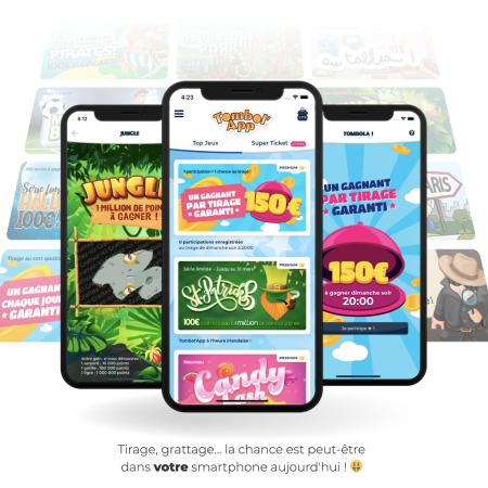 3 applications mobile pour jouer à des jeux de grattage gratuits