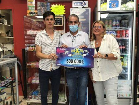 A Villefranche-sur-Saône, 500 000€ remportésau jeu à gratter X20 !