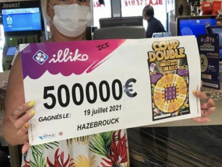 Le ticket Coup Double fait une heureuse dans le Nord de la France